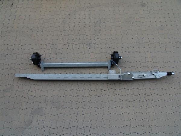 2,5 to Rückmatic-Bremsachse und Zugrohr im Set