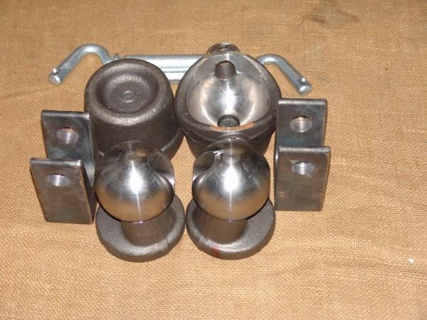 Kipplager Set 16 - 24 to Kipper Dreiseitenkipper