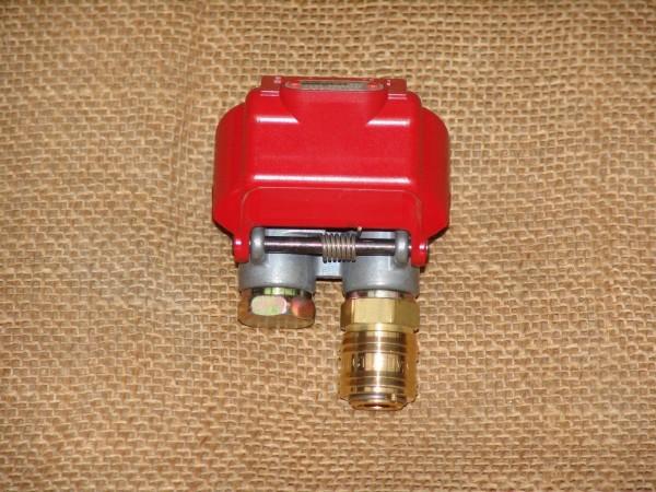 Duomatic Kupplung mit Druckluftkupplung Luftanschluß LKW Traktor