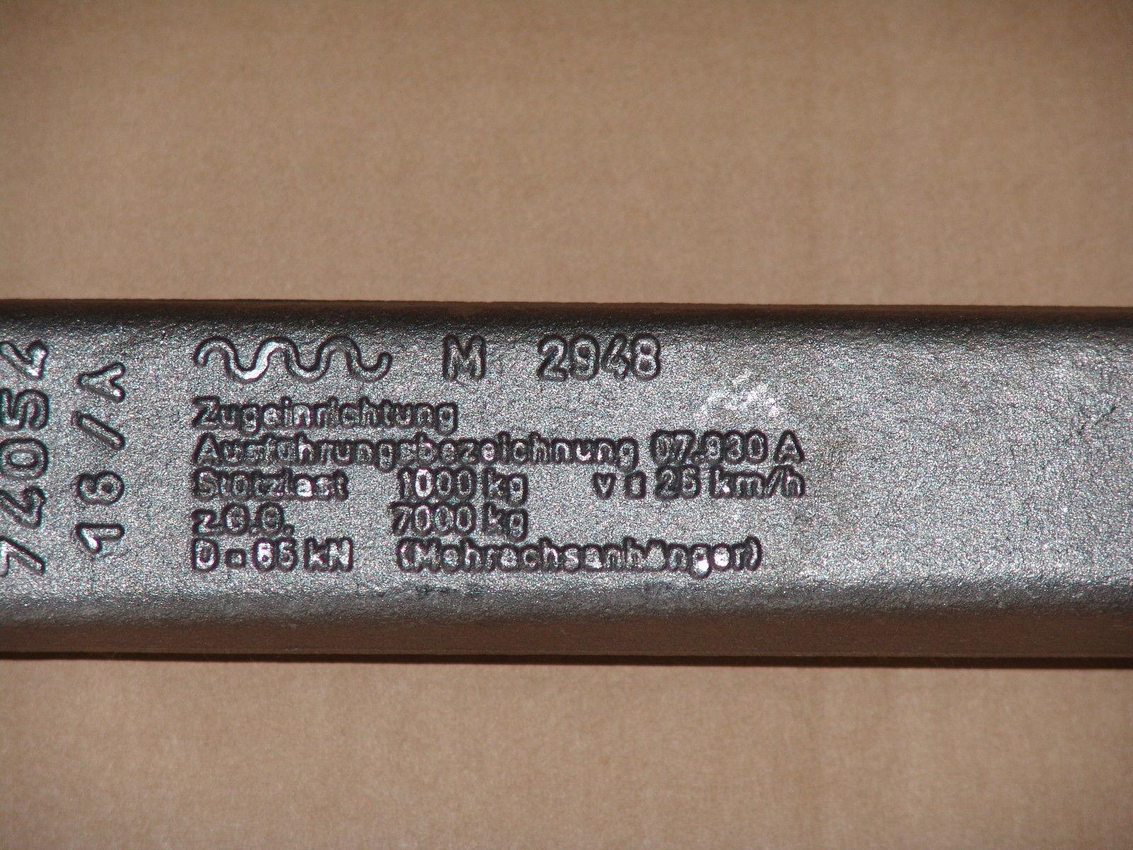 Zugöse Einschweisszugöse 3 to DIN 74054